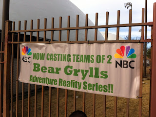 Casting for the new Bear Grylls NBC show