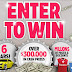 Jarritos Cash Jackpot Instant Win Giveaway - 5,448 Winners. Win Cash Prizes of $25, $50, $100, $500, $5,000 or $30,000. Daily Entry, Ends 9/15/18