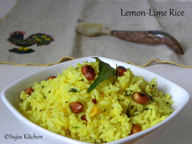 Lemon Lime rice