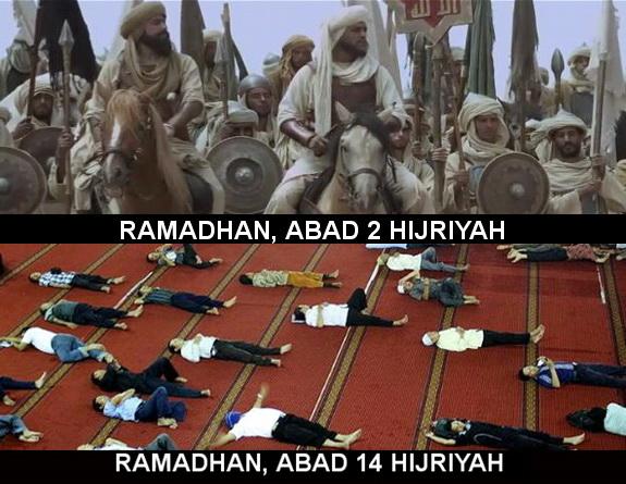 Sudahkah Kita Berjihad Di Bulan Ramadhan Ini?