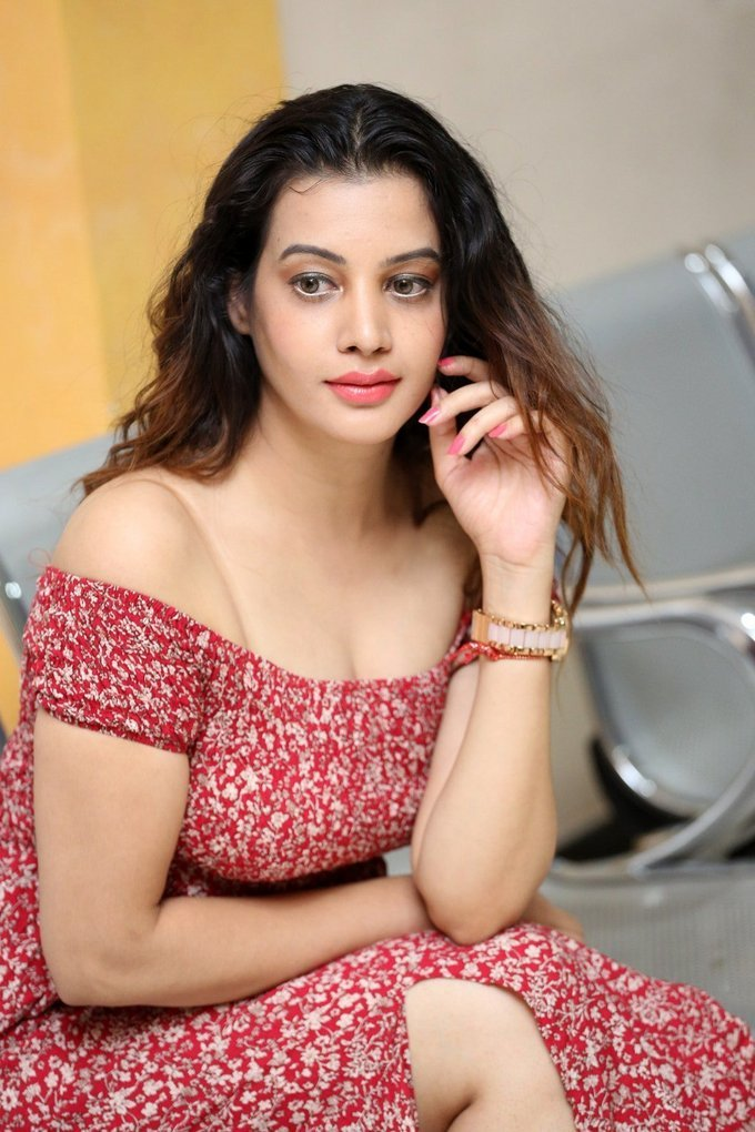 Diksha Panth Hot at Maya Mall Pre Release Event Gallery