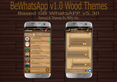 BeWhatsApp Wood v1.0.0 Based NSWhatsApp v5.30 3D Edition Latest Version (GB WhatsApp v5.30)