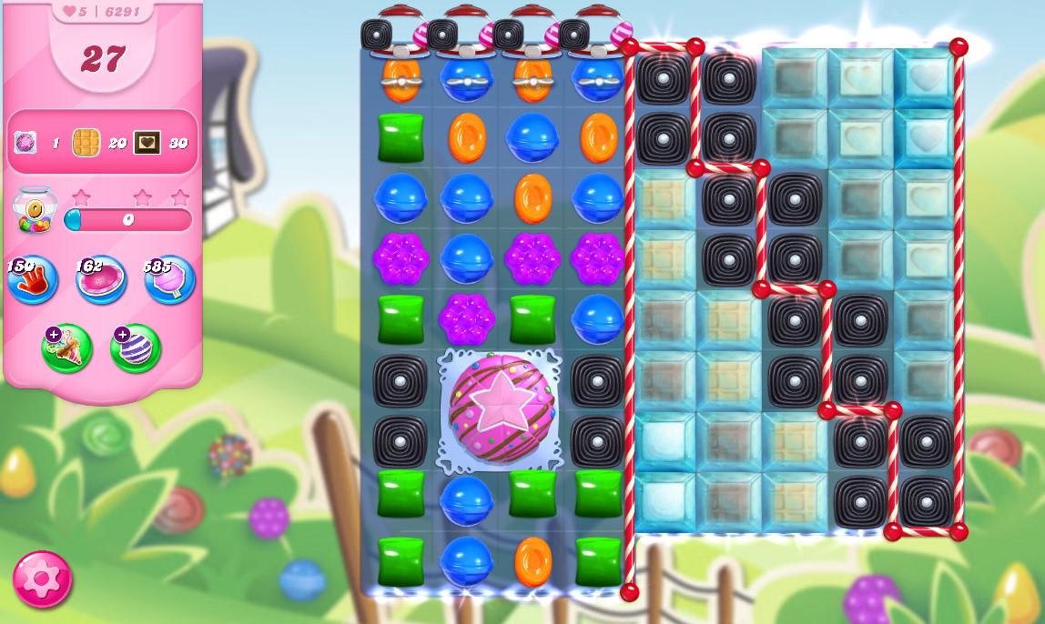 Candy Crush Saga level 6291