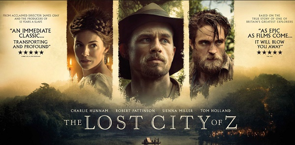 Sinopsis Film The Lost City of Z