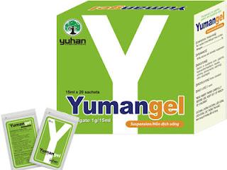 Thuốc chữa bệnh đau dạ dày chữ Y - Yumangel