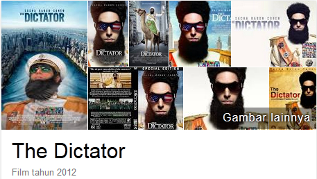 The Dictator 2012 BluRay Subtitle Indonesia