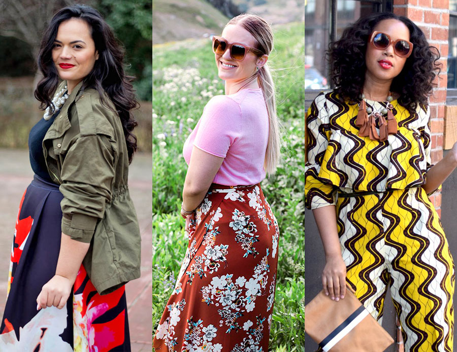 9 Mid Size Fashion Bloggers | Bloggers of all shapes and sizes who are somewhere - anywhere - between a size 0 and plus size