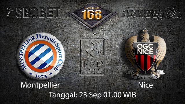 Prediksi Bola Jitu Montpellier vs Nice 23 September 2018 ( French Ligue 1 )
