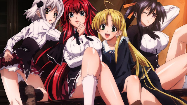 High School DxD BD Sub Indo
