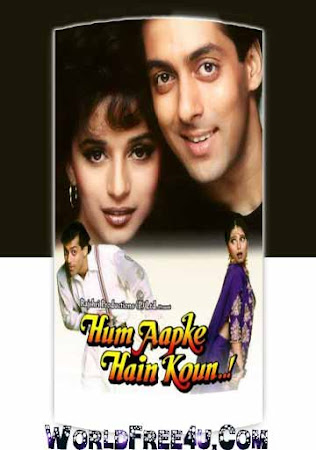 Poster Of Hindi Movie Hum Aapke Hain Koun..! 1994 Full HD Movie Free Download 720P Watch Online