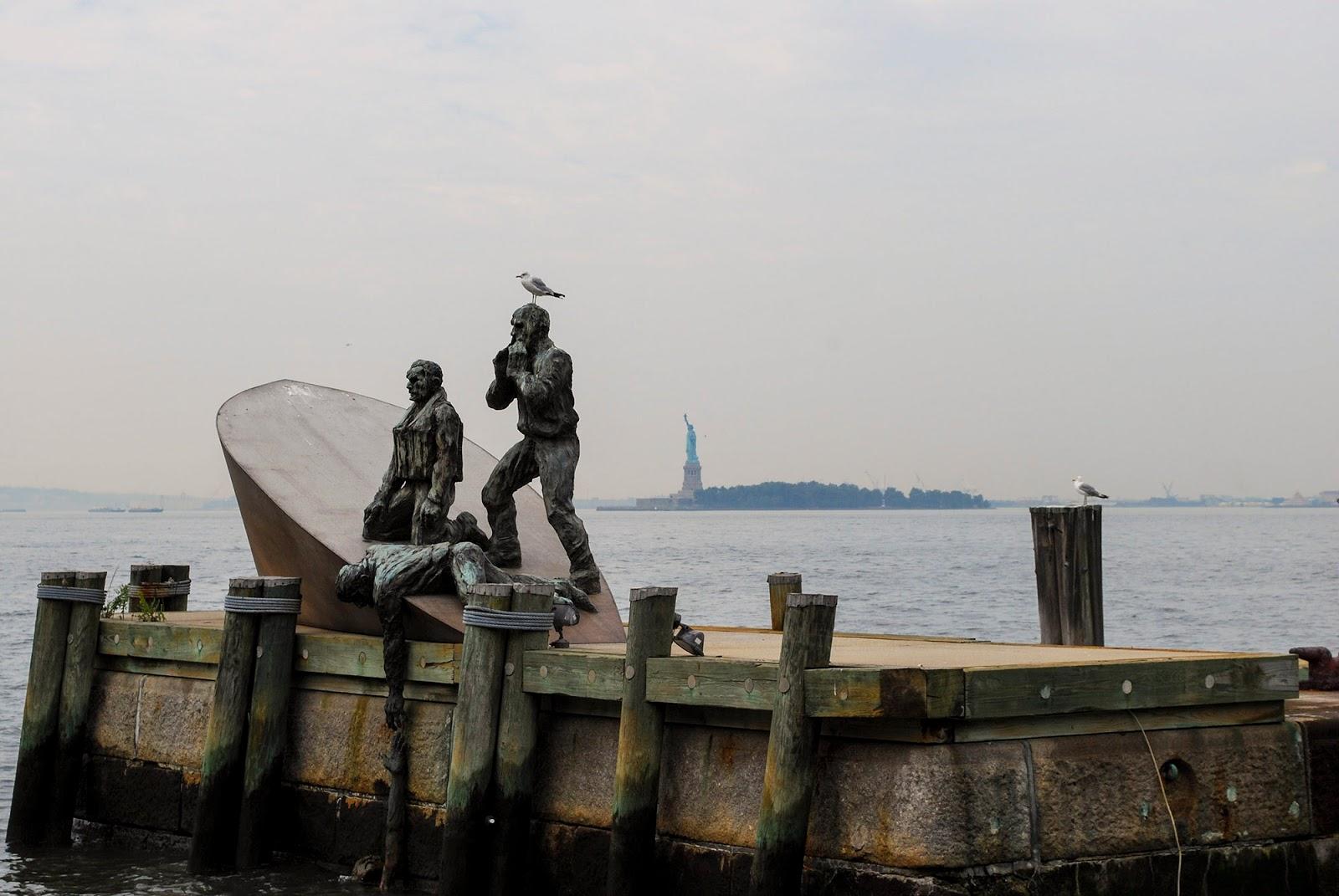 New York peer Lower Manhattan