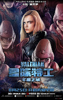 Valerian and the City of a Thousand Planets Movie Poster 17 Cara Delevingne
