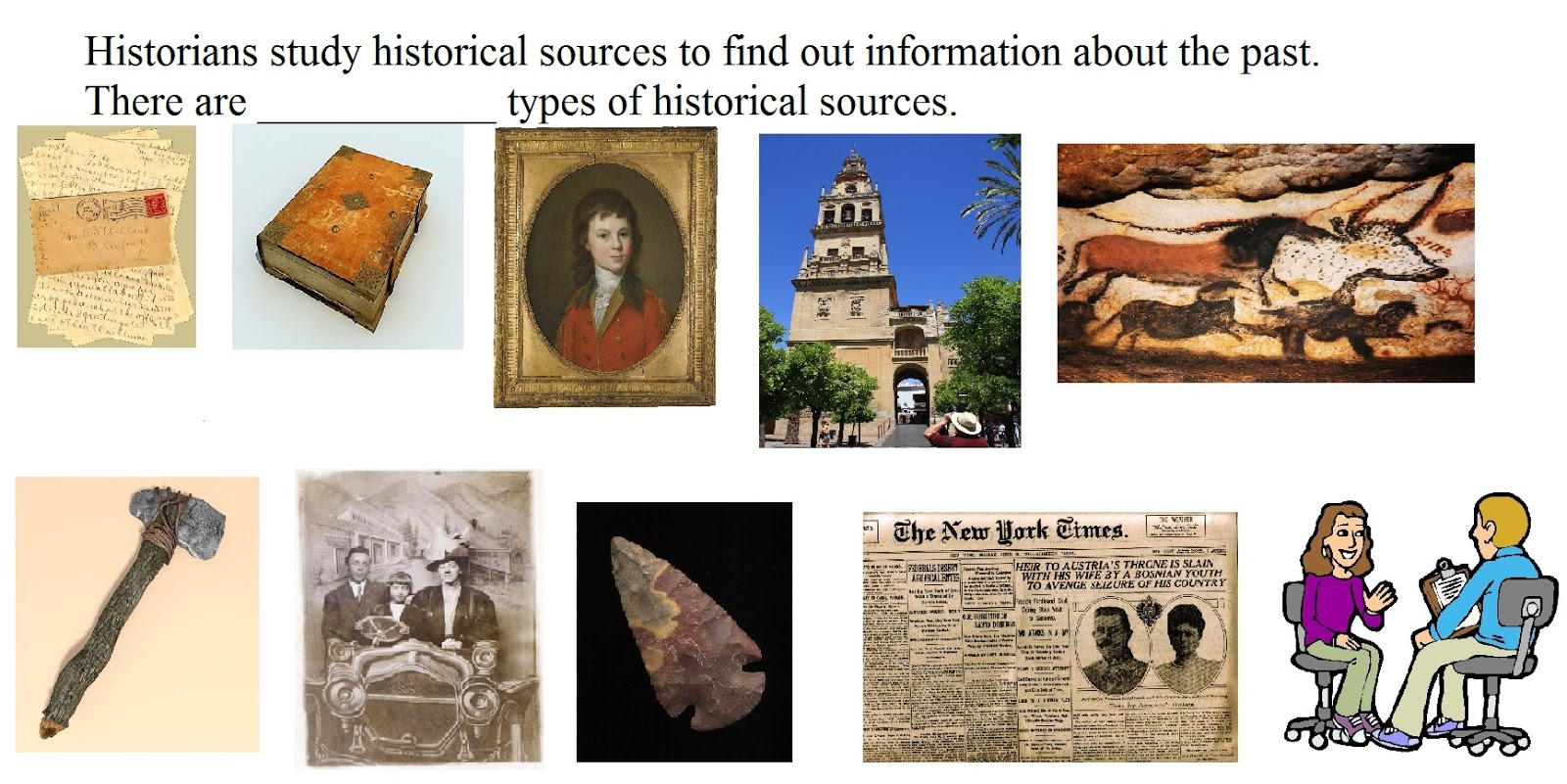 Social Natural Science Year 4 Historical Sources