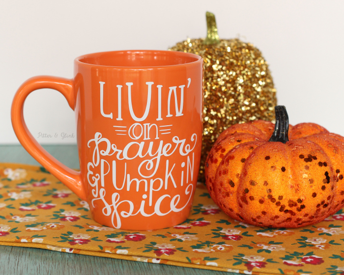 Share Your Love for Pumpkin Spice with This $2 DIY Mug