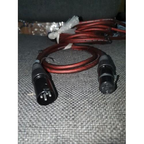 Dây mic Canong 1 đầu đực 1 đầu cái 1M