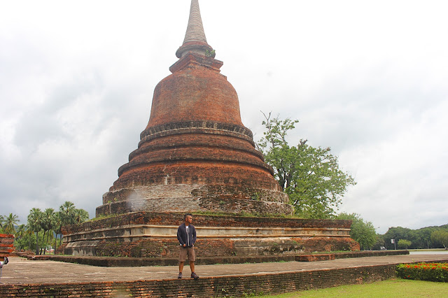 Marky Ramone Go in Ancient City of Sukhothai