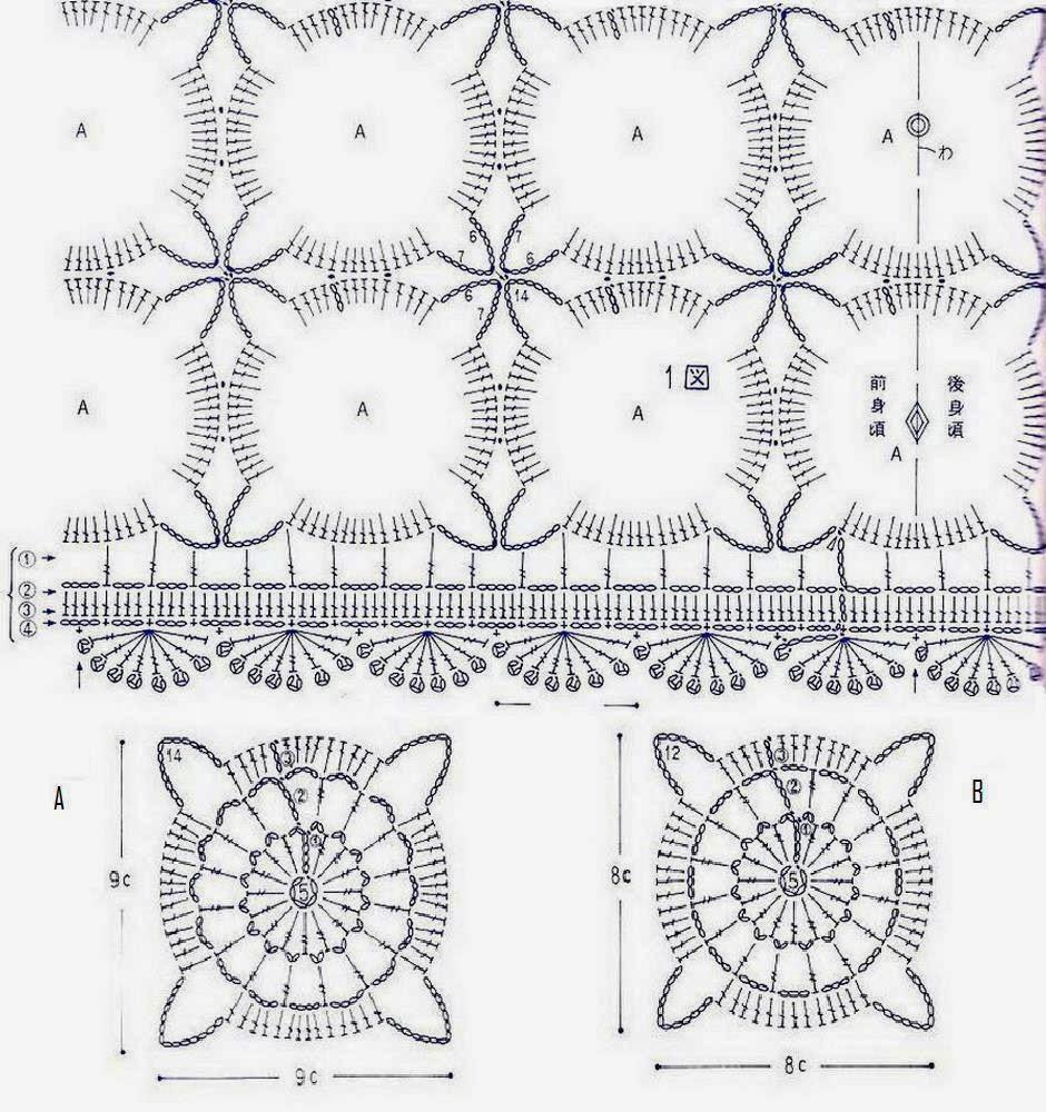 Free Crochet Lace Sweater Patterns