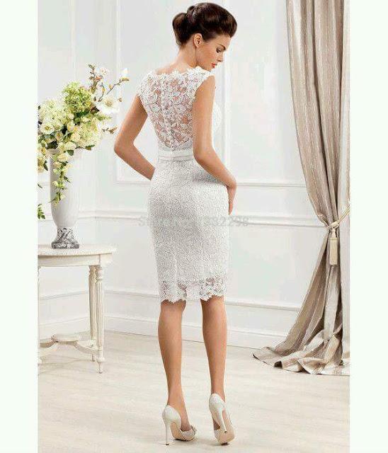 Imagen de vestido de novia para civil
