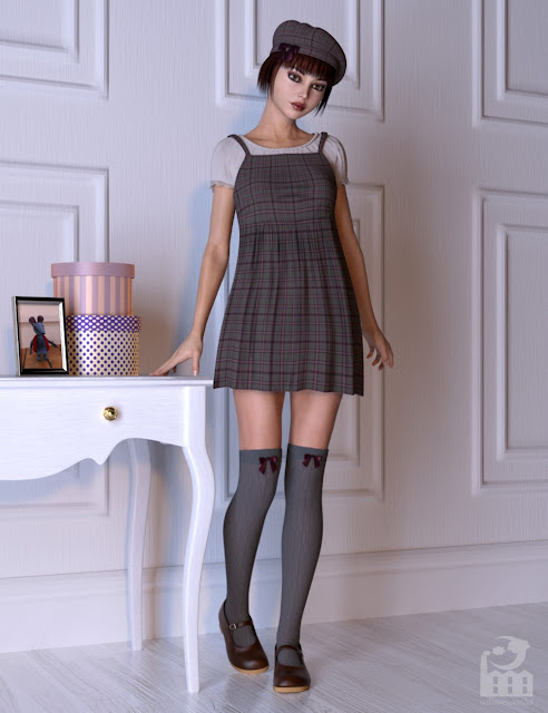 Rule Of Cute Outfit for Genesis 8 and 3 Female