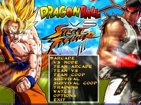 Dragon Ball vs Street Fighter III M.U.G.E.N (Hi-Res) by Dbzsupakid