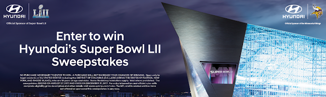 HYUNDAI SUPER BOWL Lll SWEEPSTAKES