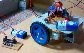 Remote Controlled Automobile Using Rf