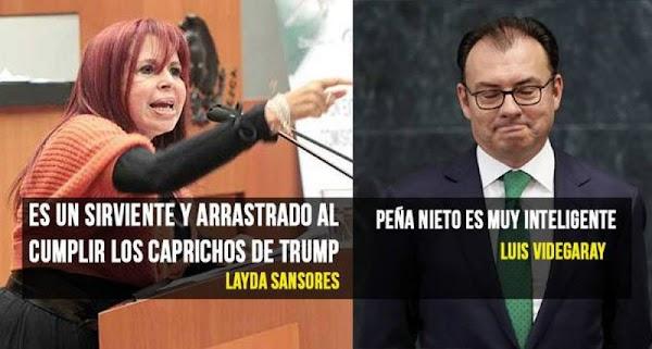 """""""Las mujeres tienen más agallas"""", felicitan a Sansores por enfrentar a Videgaray"""