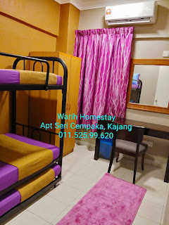Warih-Homestay-Sri-Cempaka-Kajang-Third-Bedroom