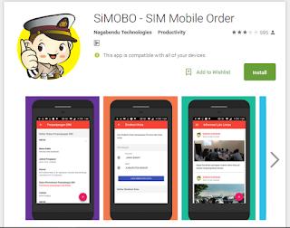 cara perpanjangan sim online dengan aplikasi simobo