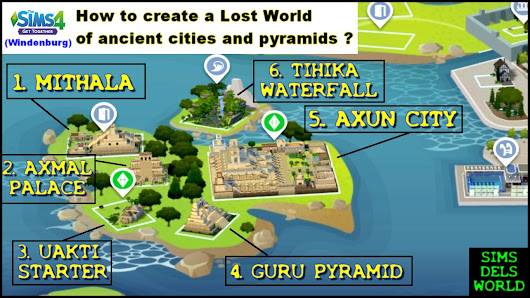 Create a world of ancient pyramids in your game the world of uakti the sims 4 create a world of ancient pyramids in your game the world gumiabroncs Choice Image