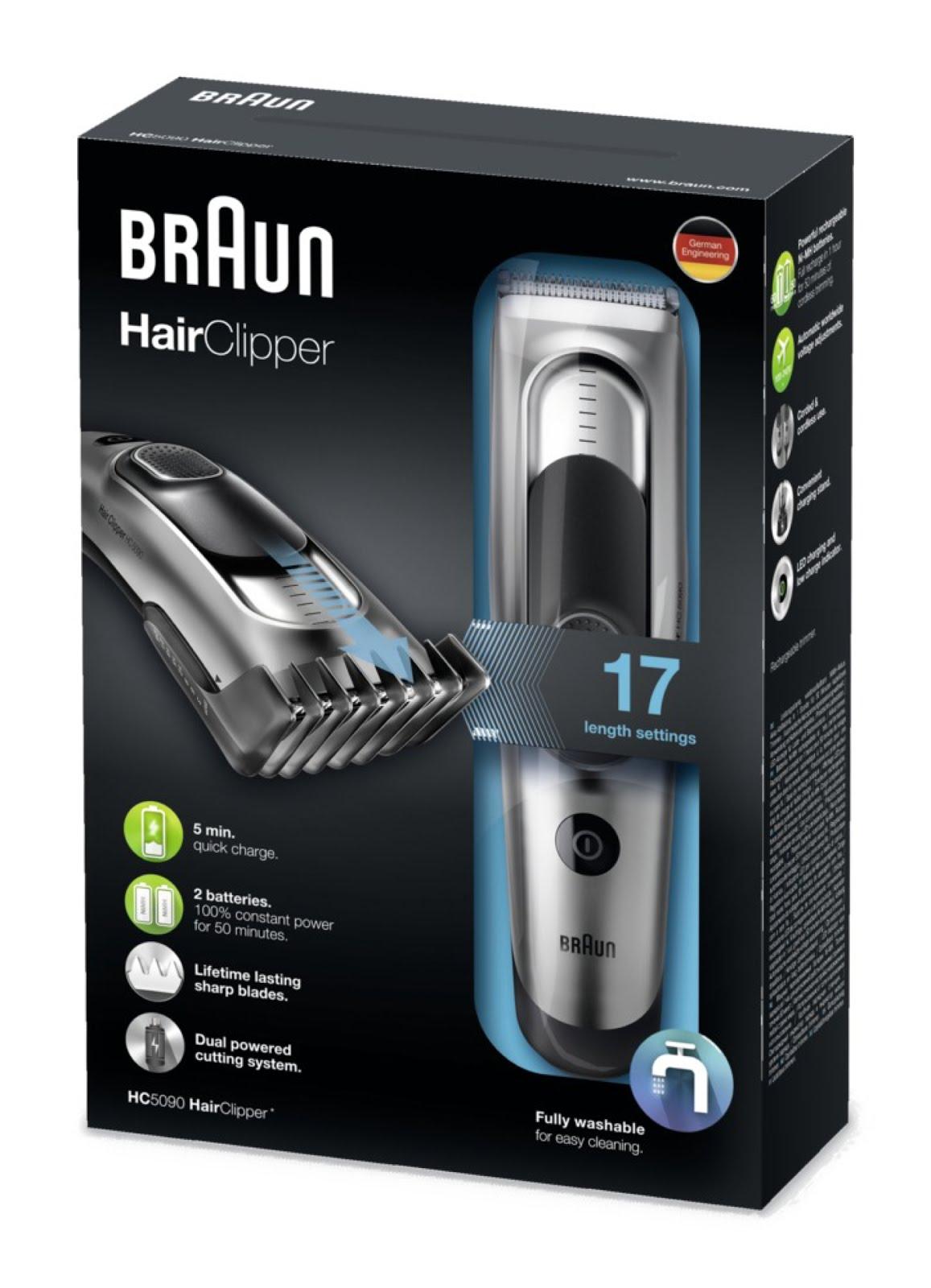 Der Braun Hair Clipper für den Mann entfernt auch noch dass dichteste Haargestrüppp