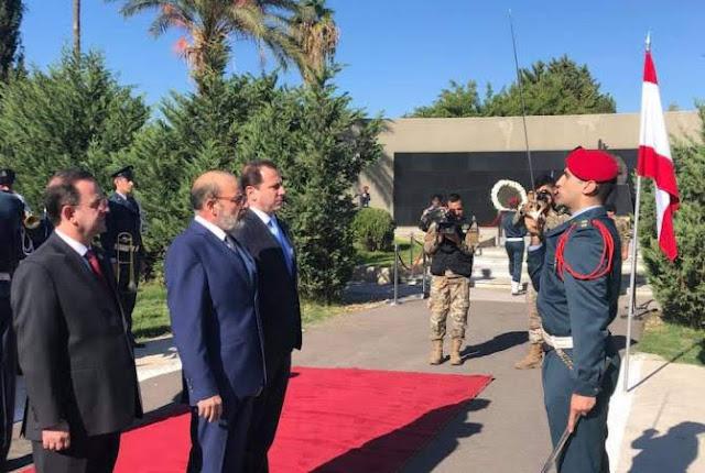 Armenia y el Líbano firman acuerdo de cooperación militar