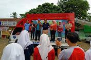 Cegah Peredaran Narkoba di Masyarakat BNNP Banten Lakukan Aksi Donor dan Kampanyekan Stop Narkoba