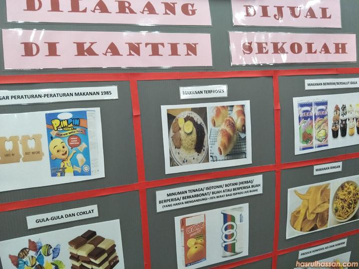 Makanan Yang Boleh dan Tidak Boleh Dijual di Kantin Sekolah