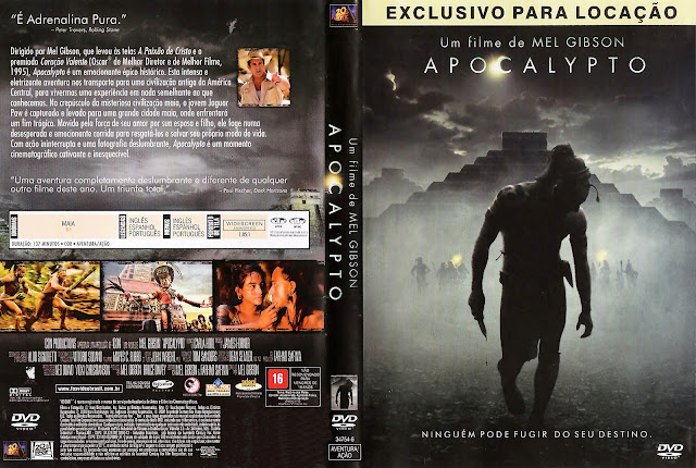Capa DVD Apocalypto