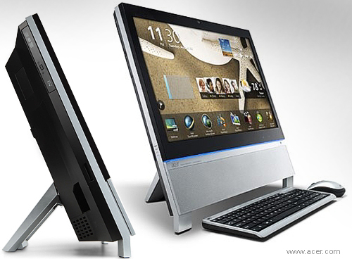 The touch experience-Z5 all in one by Acer