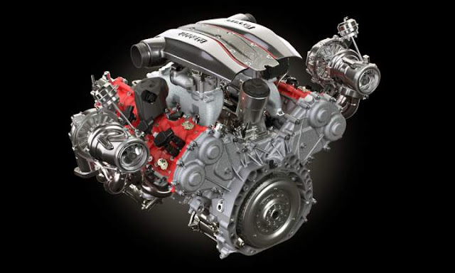 Mesin Ferrari F154 V8 3900cc