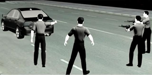 Sadis, Mobil Sudah Berhenti, Polisi Tetap Brutal Menembaki