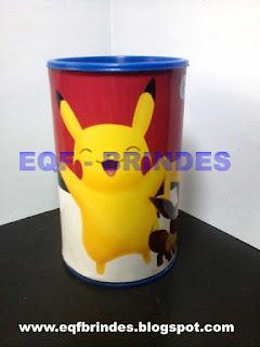 cofrinho pokemon, pokemon, cofrinho, brinde pokemon, lembrancinha pokemon, festa pokemon, tema pokemon