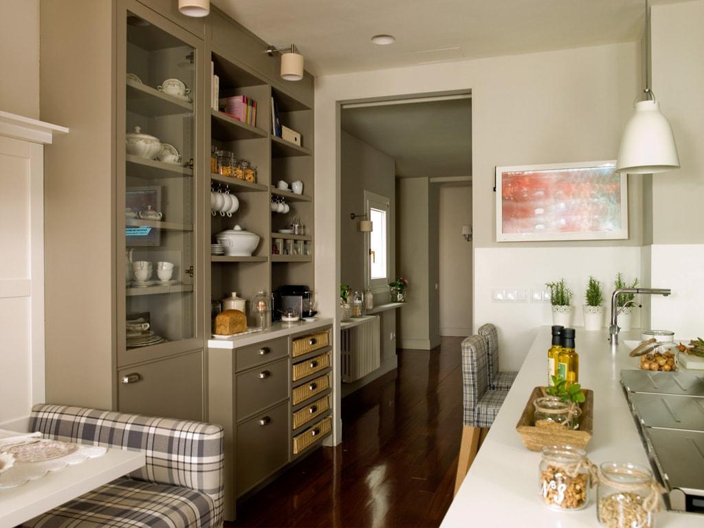 Funcional y encantadora una cocina con un tinte - Diseno de una cocina ...