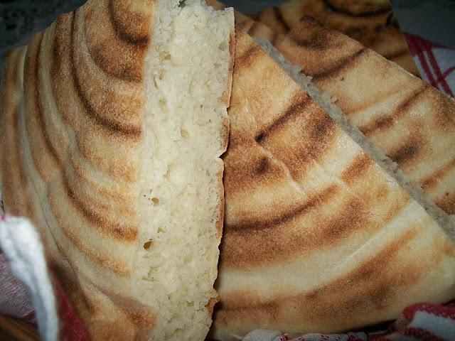 خبز طاجين تونسي ,خبز دياري ,
