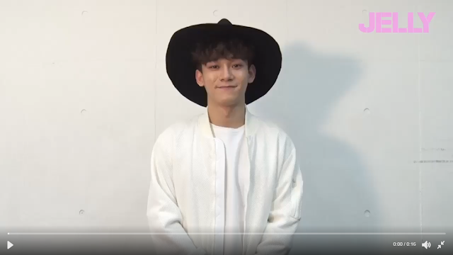 [OFFICIAL/TRANS] 170429 Jelly.official Twitter and Instagram Update with Chen