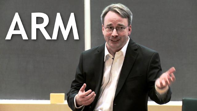 ARM e Linus Torvalds
