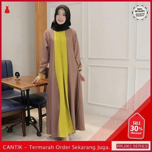 Jual RRJ061D113 Dress Zalina Maxy Wanita Mo Terbaru Trendy BMGShop