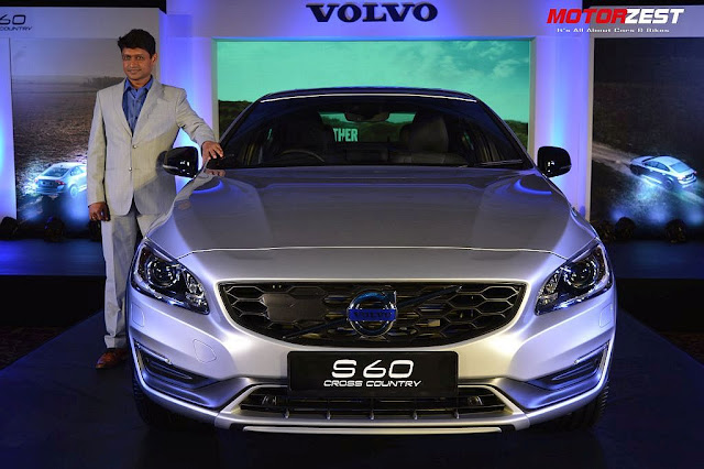 Volvo Launches S60 Cross Country In India