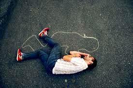 عکس تنهایی خوابیدن