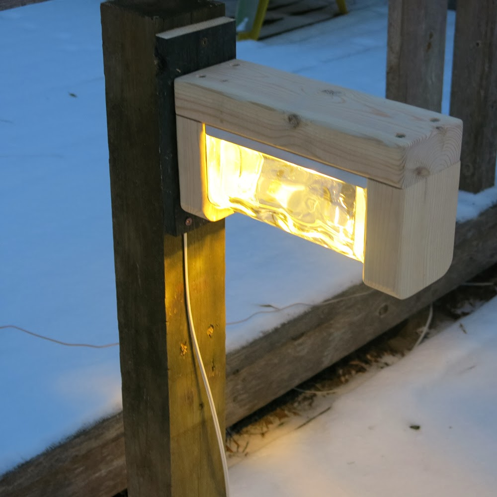 Patio Lights Diy: Georgesworkshop: Diy Garden Lamp Progress