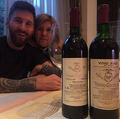 Lionel Messi shares photo with his Mother as she celebrates her 57th Birthday