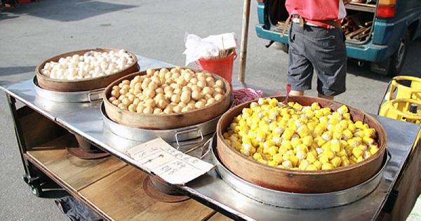 fish ball and siomai