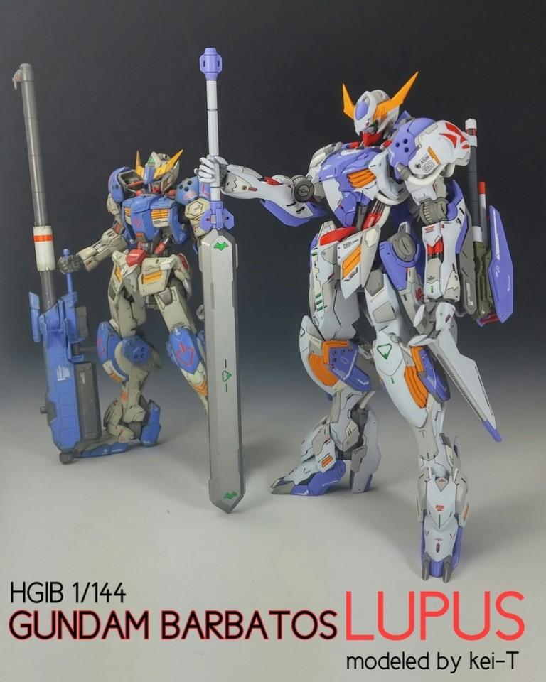gundam guy hg 1 144 gundam barbatos lupus   customized build